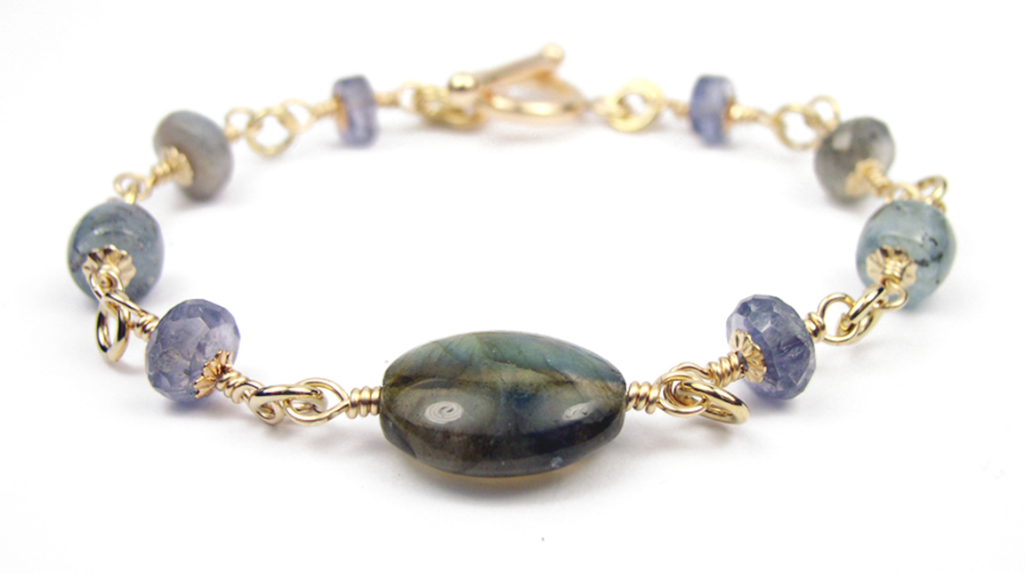 Gold Spiritual Crystal Healing Jewelry