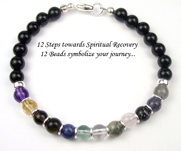 12 Step Jewelry Handmade Gemstone Recovery Gifts