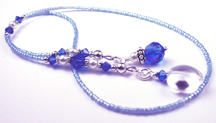 September - Dark Sapphire Birthstone Beaded Bookmarks