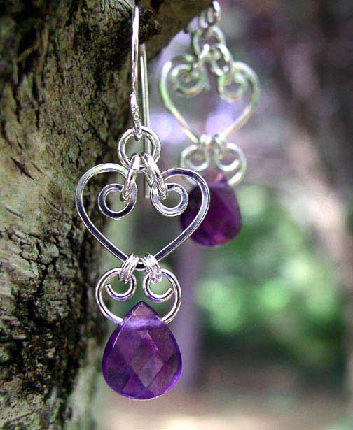 Handmade Chandelier Earrings crafted with sterling silver 14Kt – Handmade Chandelier Earrings