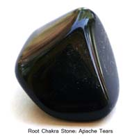 Apache Tears Gemstone