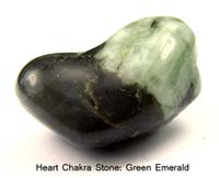 Emerald Tumbled Nugget Healing Stones