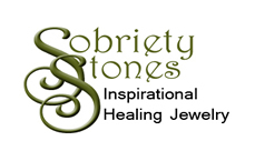 SobrietyStones Crystal Healing Jewelry and Inspirational Jewelry Gifts.