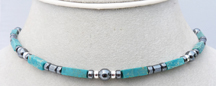 Mens' Path to Wisdom Turquoise Intention Necklace